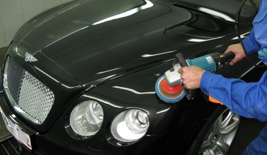 Как отполировать авто после покраски своими руками видео