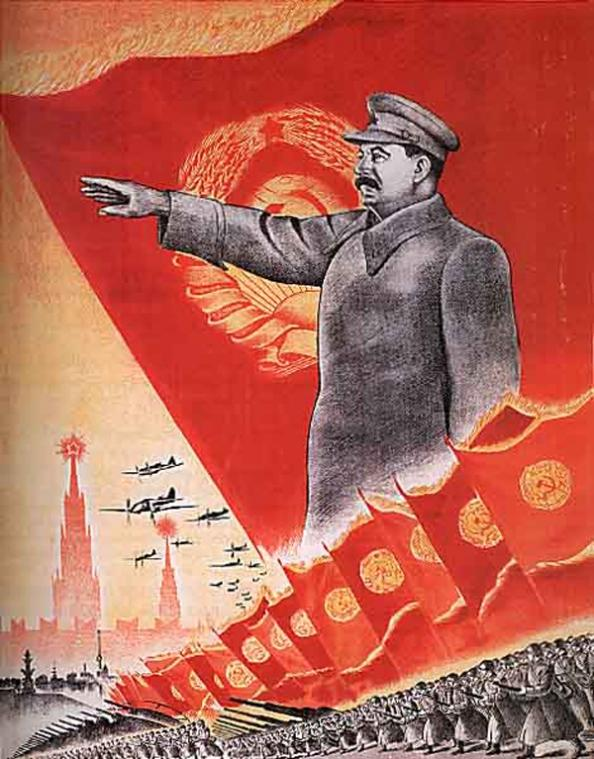 the use of propaganda in the rule of joseph stalin