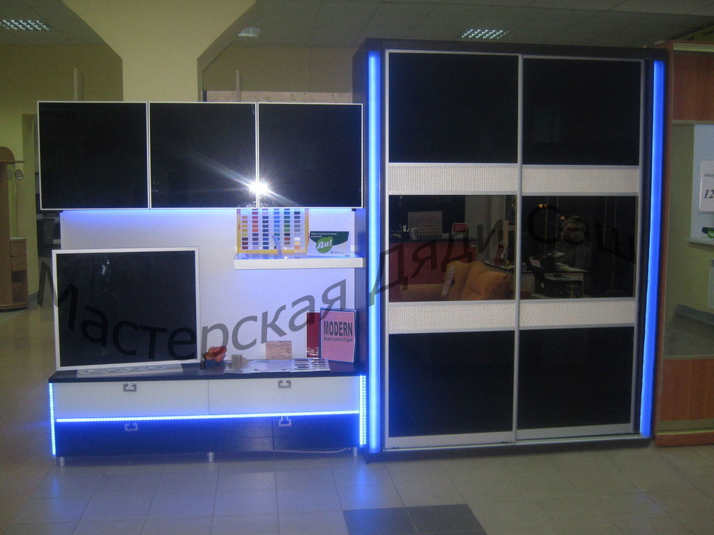 Мебель на заказ с подсветкой , фото. цена - 13000.00 руб., п.