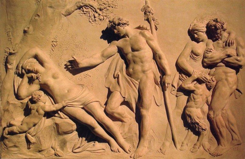 Секс в греческом зале