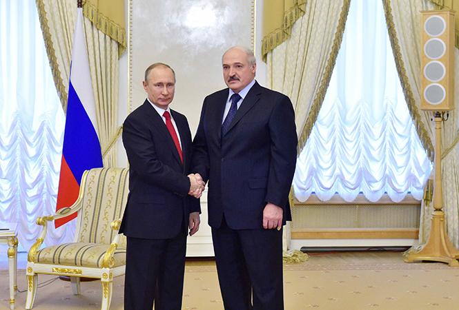 Лукашенко и Путин: Между нашими странами не осталось нерешенных вопросов