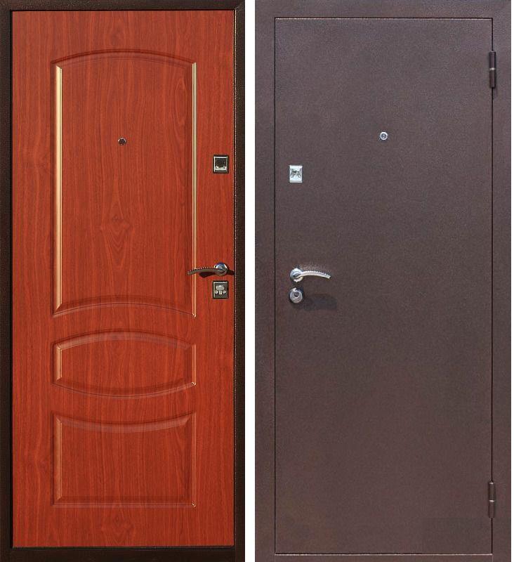 металлические дверь 2