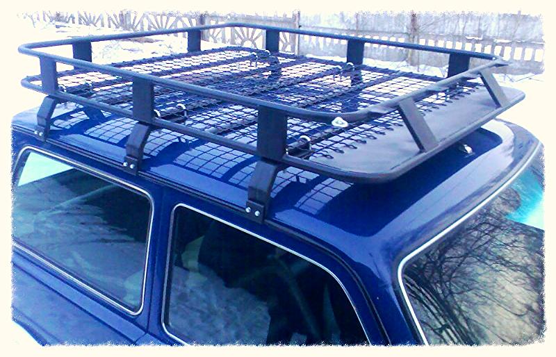 Багажник на крышу своими руками на ниву 2121