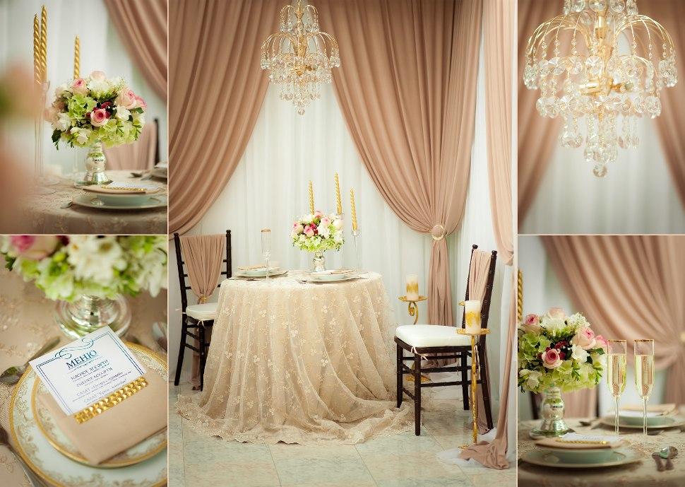 Дизайн свадебного декора