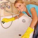 уход за ванной, как чистить ванну после реставрации