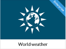 World weather - 7 days extended