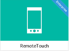 RemoteTouch - let your audience control your screens through mobile technology