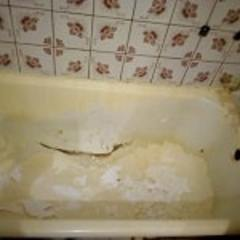 Фото ванны до покрытия