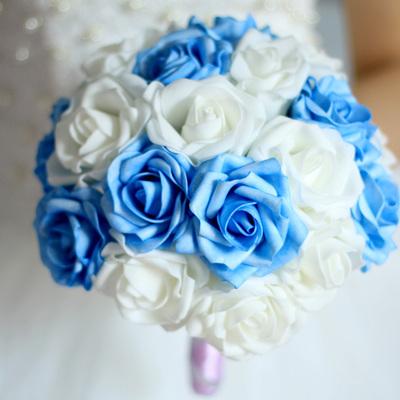 Букет для невесты из искусственных цветов