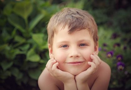 хорошее настроение, портрет мальчика