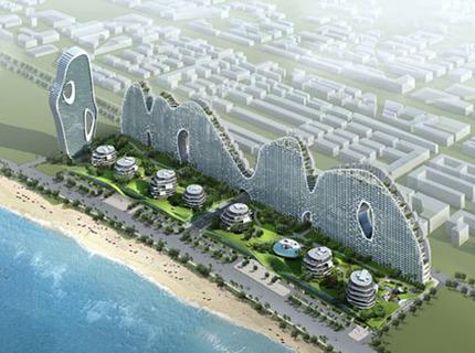 Жилой комплекс у побережья