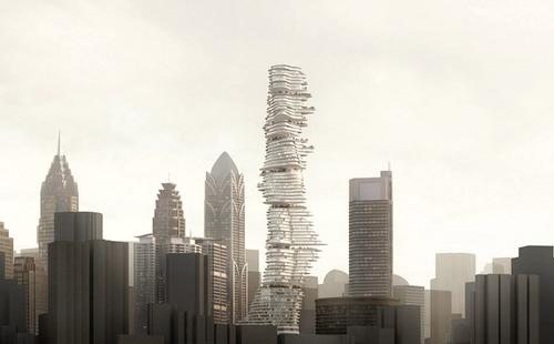 Башня Городской лес в Китае