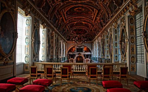Дворец фонтенбло фото