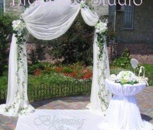 Цветы на свадебную арку своими руками - Svbur.ru