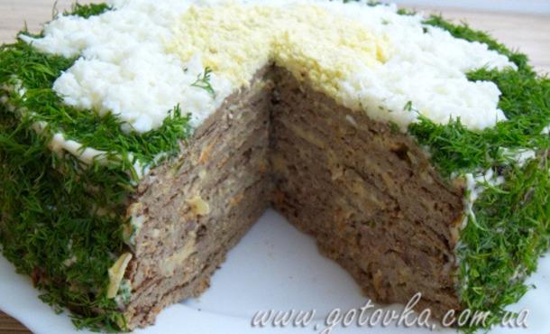 Рецепт печеночного торта в домашних условиях - Vingtsunspb.ru