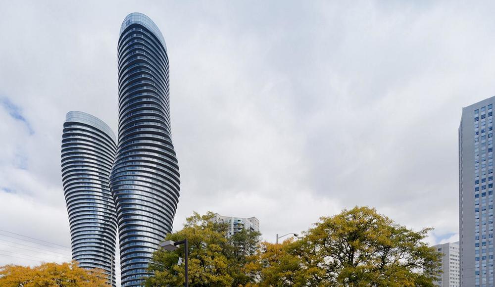 Небоскребы в Канаде Absolute Towers